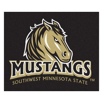 NCAA Southwest Minnesota State University Indoor/Outdoor Area Rug