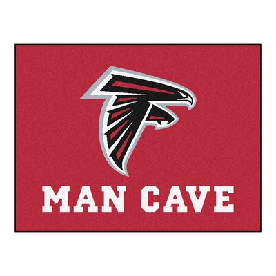 NFL - Atlanta Falcons Man Cave Starter Rug Size: 17 x 26