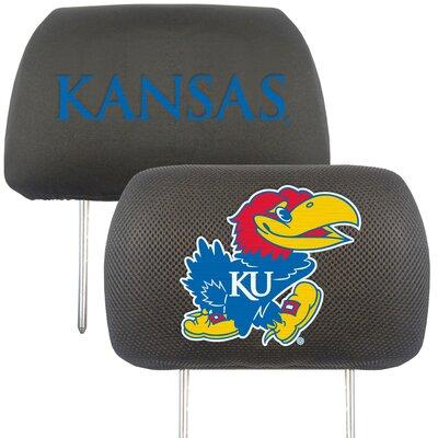 NCAA Head Rest Cover NCAA Team: Kansas