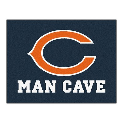 NFL - Chicago Bears Man Cave Starter Rug Size: 210 x 37