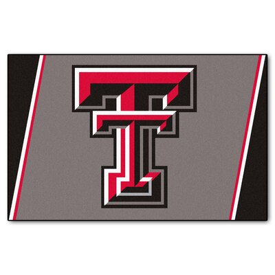 NCAA Texas Tech University Rug Rug Size: 5 x 78
