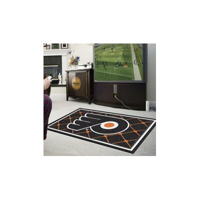 NHL Rug Rug Size: 5 x 78, NHL Team: Philadelphia Flyers