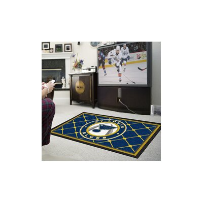 NHL - St. Louis Blues Rug Rug Size: 310 x 6