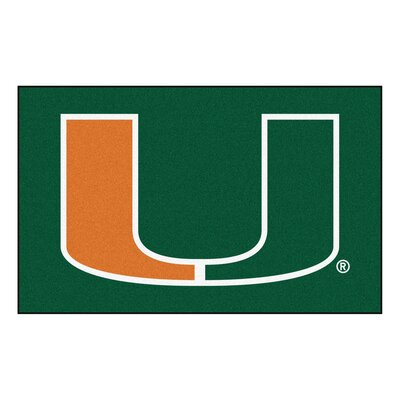 NCAA University of Miami Ulti-Mat