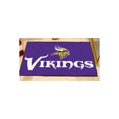 NFL - Minnesota Vikings Ulti-Mat Mat Size: 5 x 6
