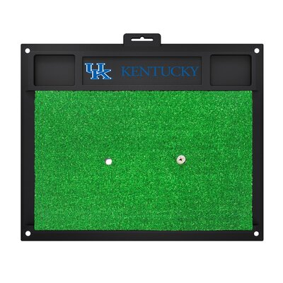 NCAA University of Kentucky Golf Hitting Mat