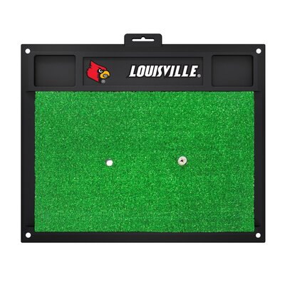 NCAA University of Louisville Golf Hitting Mat
