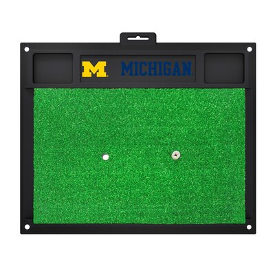 NCAA University of Michigan Golf Hitting Mat