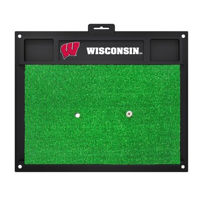 NCAA University of Wisconsin Golf Hitting Mat