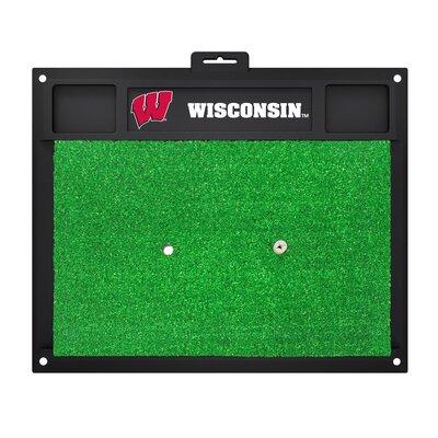 NCAA University of Wisconsin Golf Hitting Mat
