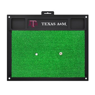 NCAA Texas A&M University Golf Hitting Mat