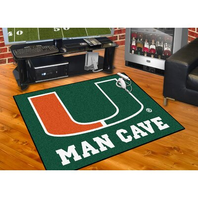 NCAA University of Miami Man Cave All-Star