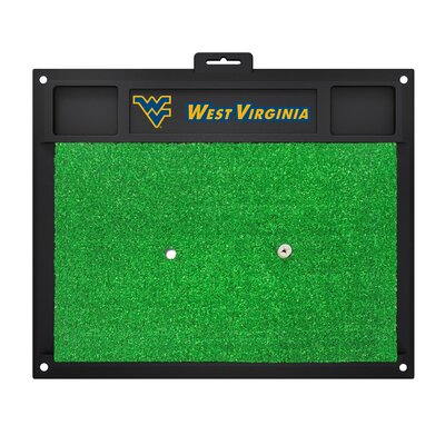 NCAA West Virginia University Golf Hitting Mat