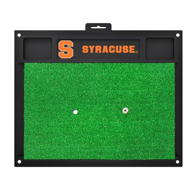 NCAA Syracuse University Golf Hitting Mat