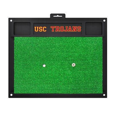 NCAA University of Southern California Golf Hitting Mat