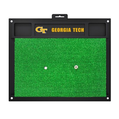 NCAA Georgia Tech Golf Hitting Mat