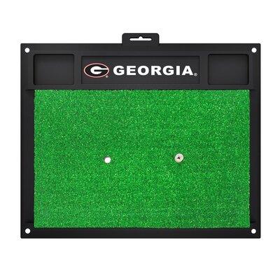 NCAA University of Georgia Golf Hitting Mat