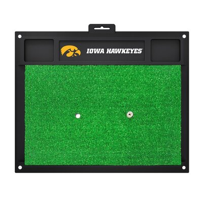 NCAA University of Iowa Golf Hitting Mat