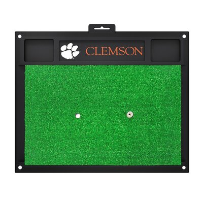 NCAA Clemson University Golf Hitting Mat