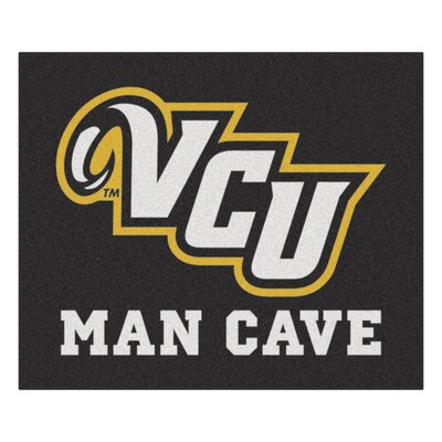 NCAA Virginia Commonwealth University Man Cave Indoor/Outdoor Area Rug