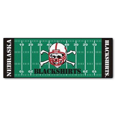 NCAA University of Nebraska Football Field Runner