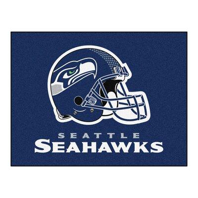 NFL - Seattle Seahawks Doormat Rug Size: 210 x 38.5