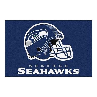 NFL - Seattle Seahawks Doormat Rug Size: 18 x 26