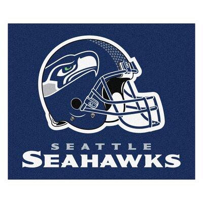 NFL - Seattle Seahawks Doormat Mat Size: 5 x 6