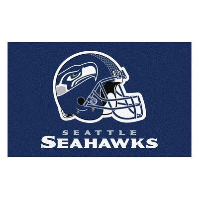 NFL - Seattle Seahawks Doormat Mat Size: 5 x 8