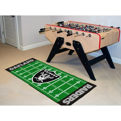 NFL - Oakland Raiders Football Field Runner