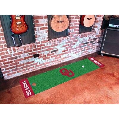 NCAA University of Oklahoma Putting Green Doormat