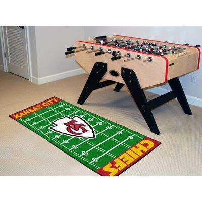 NFL - Kansas City Chiefs Football Field Runner