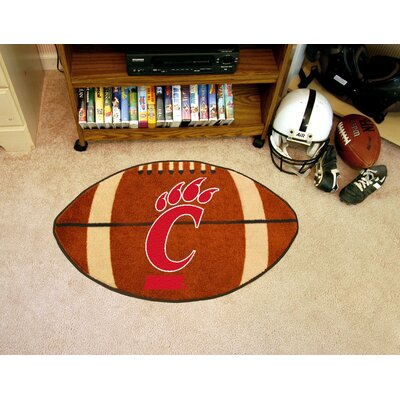 NCAA University of Cincinnati Football Doormat