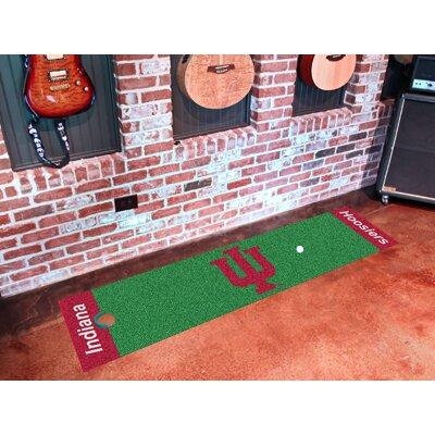 NCAA Indiana University Putting Green Doormat