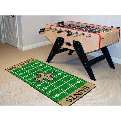 NFL - New Orleans Saints Football Field Runner