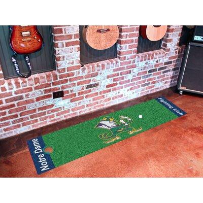 NCAA Notre Dame Putting Green Doormat