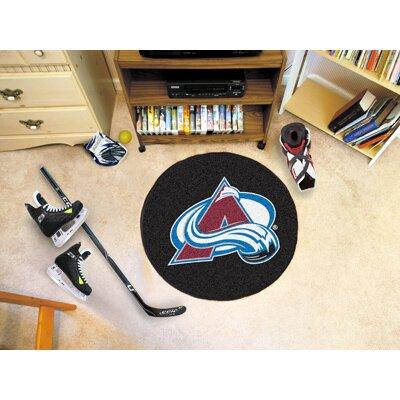 NHL - NCAAorado Avalanche Puck Doormat