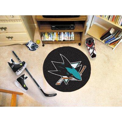 NHL - San Jose Sharks Puck Doormat