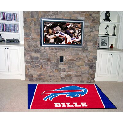 NFL - Buffalo Bills 4x6 Rug Rug Size: 5 x 8