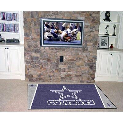 NFL - Dallas Cowboys 4x6 Rug Rug Size: 5 x 8