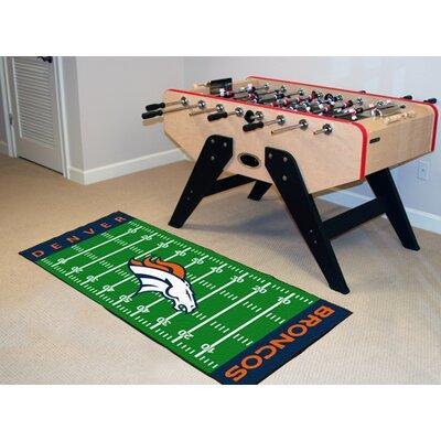 NFL - Denver Broncos Football Field Runner
