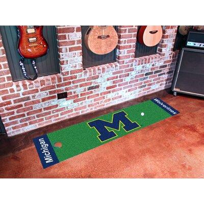 NCAA University of Michigan Putting Green Doormat