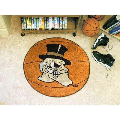 NCAA Wake Forest University Basketball Mat