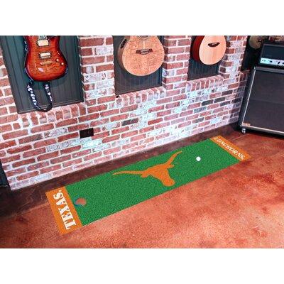 NCAA University of Texas Putting Green Doormat