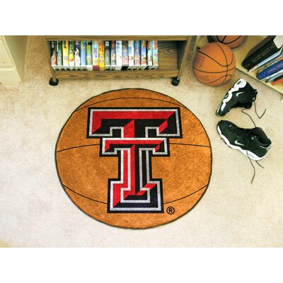 NCAA Texas Tech University Basketball Mat