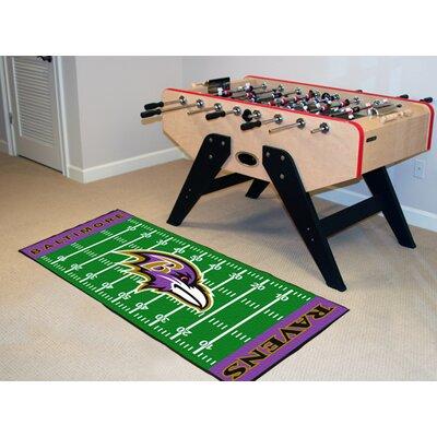 NFL - Baltimore Ravens Football Field Runner