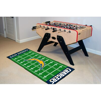 NFL - San Diego Chargers Football Field Runner