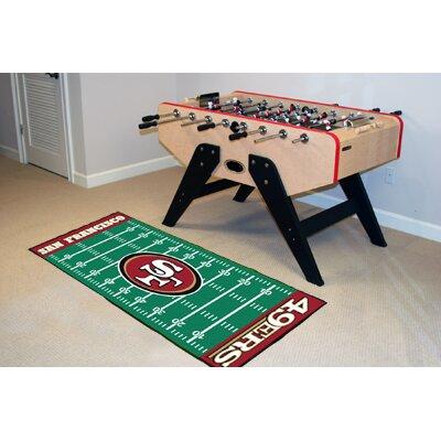 NFL - San Francisco 49ers Football Field Runner