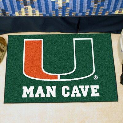 NCAA University of Miami Man Cave Starter