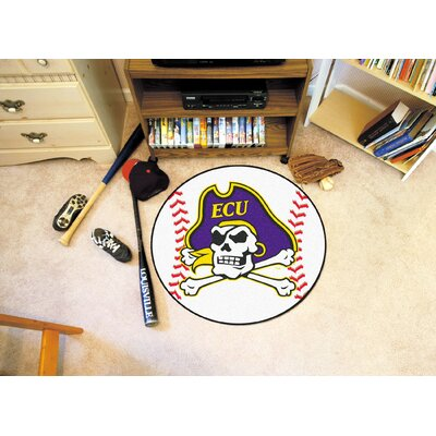 NCAA East Carolina University Baseball Mat